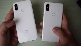 Xiaomi Mi 8 vs Mi Mix 2S, video confronto