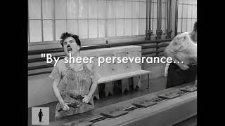 Charlie Chaplin Quotes - Perseverance to the point of madness