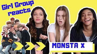 Girl Group Reacts To Monsta X Alligator!