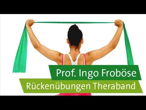 Rückenübungen mit dem Theraband – Prof. Ingo Froböse
