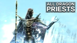 Skyrim - All Dragon Priests and their Dark Lore