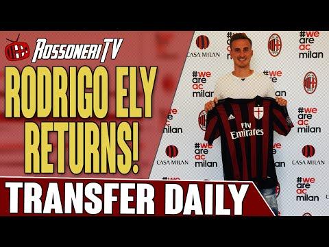 Rodrigo Ely Returns! | AC Milan Transfer Daily | Rossoneri TV