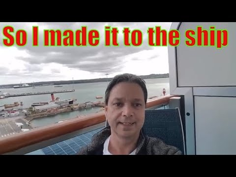 Royal Princess Transatlantic Cruise vlog   Let's head to the cruise ship