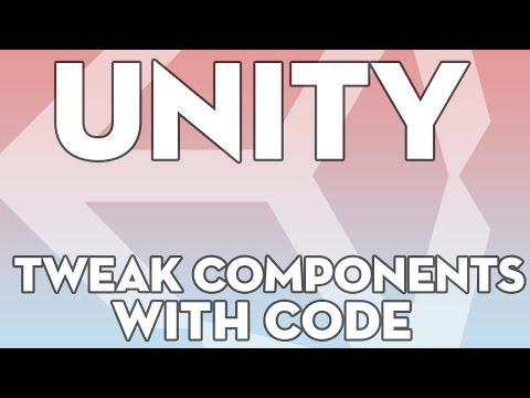 Unity Tutorials - B17 - Tweaking components via script - Unity3DStudent.com