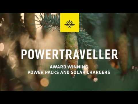 Powertraveller Chargeur solaire Falcon 40 with 2x USB-A and 1x DC output (40W)