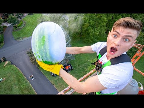FROZEN WATERMELON DROP TEST!! (LIQUID NITROGEN) Mp3