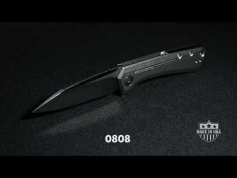 "Zero Tolerance 0808 Flipper Knife Titanium (3.25"" Satin) ZT"