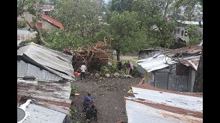 New cyclone batters Mozambique - VIDEO