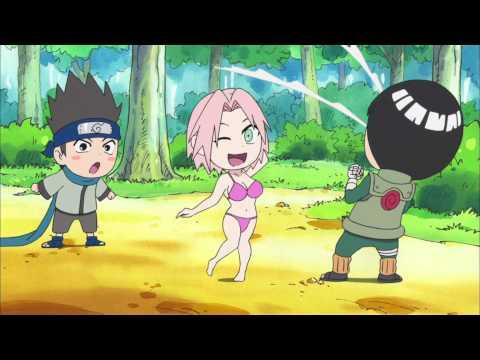 Naruto - Sexy Jutsu, Sakura, Lee, Guy, Konohamaru XD