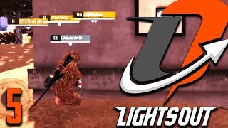 When Outsider9k became CLUTCHSIDER | Lights Out Tournaments #5 | Pubg Mobile