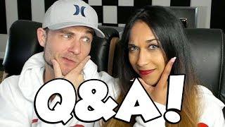 Q&A with my Fiancé!
