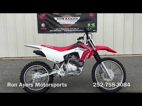 2018 Honda CRF125F (Big Wheel) in Greenville, North Carolina - Video 1