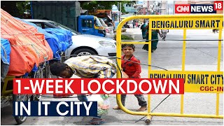 Total Lockdown in Bengaluru from July 14 to 22 as COVID-19 Cases Rise, Essential Services Exempt