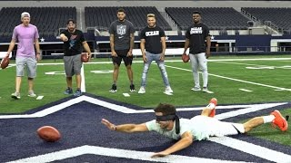 DP vs NFL Battle | Dude Perfect