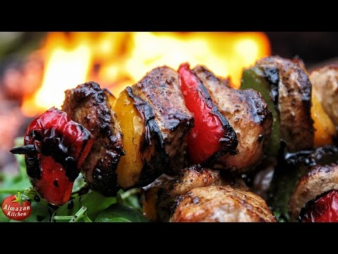 Best Chicken Souvlaki! – Cooking Outside