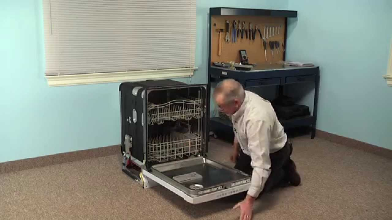 Replacing your KitchenAid Dishwasher Detergent Dispenser Assembly