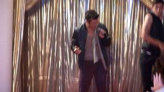 Joe McElderry - Miss Newcastle 200511 - Until The Stars Run Out