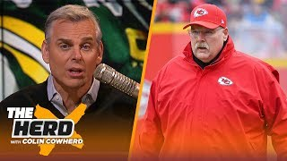 Aaron Rodgers has become too safe, all the pressure will be on Andy Reid & Chiefs | NFL | THE HERD