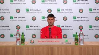 'I was overplayed by Rafa' – Djokovic after losing French Open final