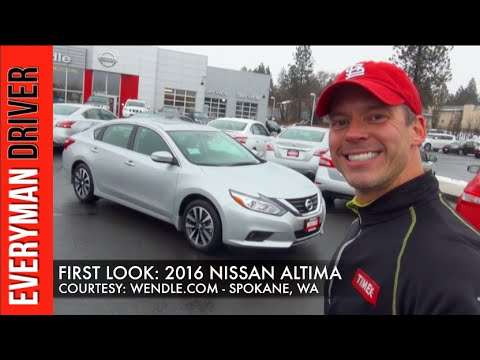 First Look: 2016 Nissan Altima on Everyman Driver