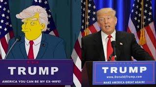 Simpsons Trump Vorhersage - Alle Hinweise & Fakten | MythenAkte
