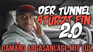 JP Performance - Der Tunnel stürzt ein 2.0! | Chevrolet Camaro V8 AGA