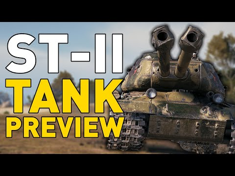 World of Tanks || ST-II - Tank Preview