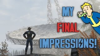 Fallout 76's B.E.T.A. Is Over - MY FINAL IMPRESSIONS!