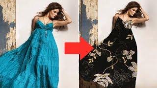 Adobe Photoshop CS6 Tutorials: Change Dress / Cloth