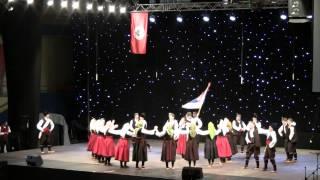 preview picture of video 'KUD Jugos München - Deo svadbenog običaja Vranjskog polja - 19. ESSFDSR Banja Luka - 12.10.2014'