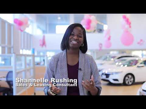 Sales and Leasing Consultant Shannelle Rushing