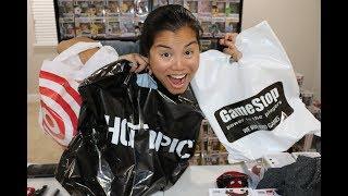 Shopping Haul! - [Target, GameStop, Hot Topic]