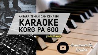 Antara Teman Dan Kasih Karaoke (Nada Cowok)