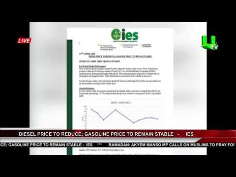 Diesel Price To Reduce; Gasoline Price To Remain Stable -  IES