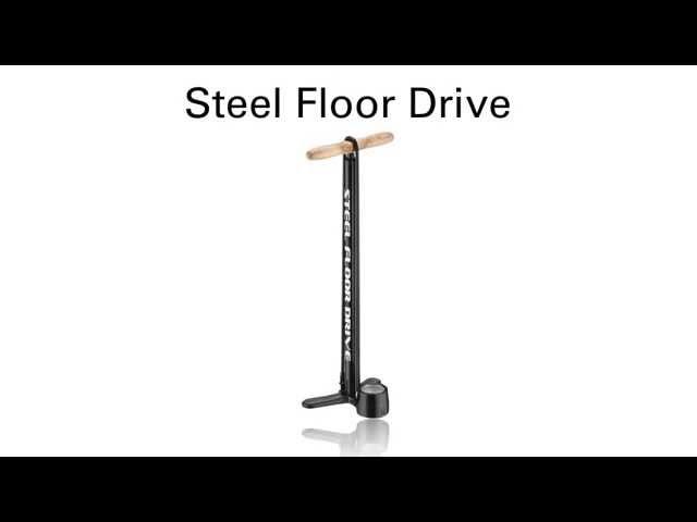 Видео Насос Lezyne CNC Travel Floor Drive черный