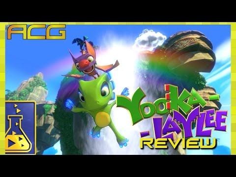 "Yooka-Laylee review ""Buy, Wait for Sale, Rent, Never Touch?"" - YouTube video thumbnail"