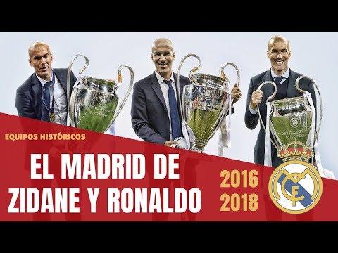 El REAL MADRID de ZIDANE y CRISTIANO que GANÓ 3 CHAMPIONS 🏆🏆🏆 (2016-2018)