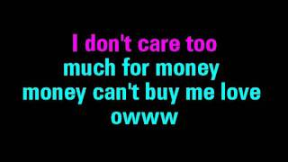Can't Buy Me Love Karaoke The Beatles - You Sing The Hits