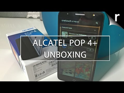 Alcatel Pop 4 Plus unboxing and hands-on review