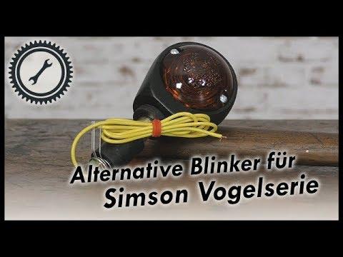 Alternative Blinker für die Simson Vogelserie - Schwalbe KR51, SR4 Simson Tutorial