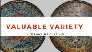 Valuable micro mint mark varieties on your Morgan Dollars