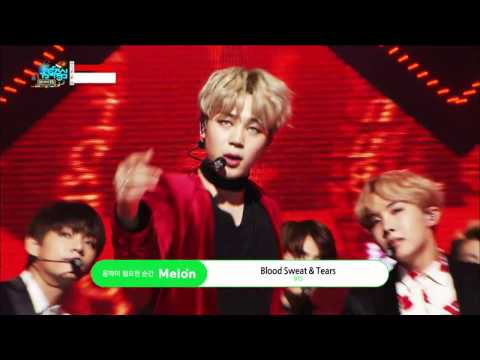 【TVPP】BTS - Blood Sweat & Tears, 방탄소년단 – 피 땀 눈물@Show Music Core