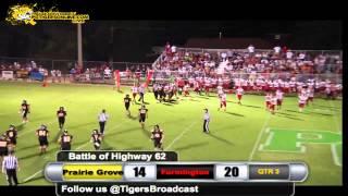 Prairie Grove (27) vs Farmington (34) 2014