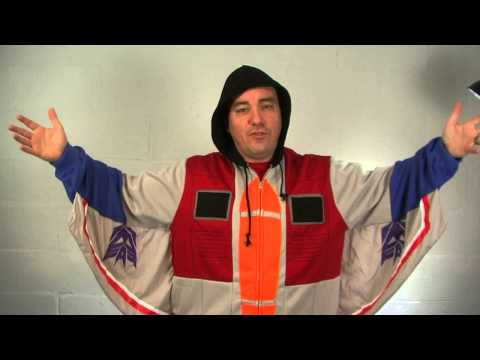 Starscream Costume Hoodie Video
