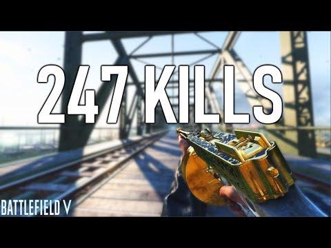 247 KILLS WORLD *RECORD* on Battlefield 5! | Battlefield V Record Kill Gameplay