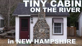 """The Pemi Cabins""- Tiny NH Cabins Right On A River! (Tiny Houses)"