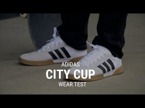 Adidas City Cup Skate Shoes Wear Test Review – Tactics.com