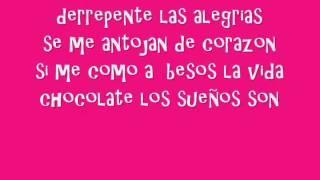 Quiero un Mundo de Caramelos - Danna Paola ( Letra en video )