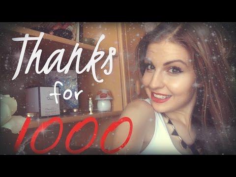 VLOG! Спасибо за 1000!))))+КОНКУРС до 1.09!!!!♥♥♥