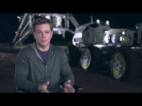 The Martian On Set Interview - Matt Damon | MTW